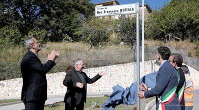 Il Comune di Cosenza intitola una strada a don Francesco Mottola
