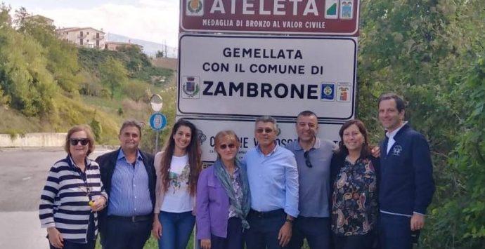 Gemellaggio tra Zambrone e Ateleta, gli amministratori vibonesi in Abruzzo