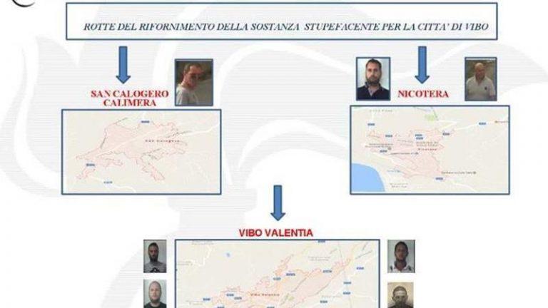 """Droga: operazione """"Calimero"""" a Vibo, sei condanne definitive"""
