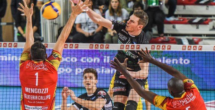 Volley, falsa partenza per la Tonno Callipo: a Padova è 3-0