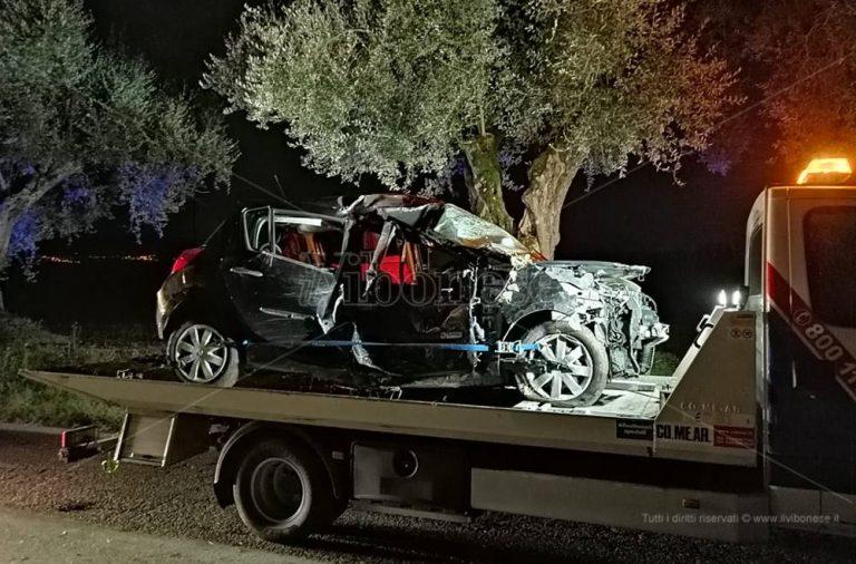 Incidente mortale tra Francica e San Costantino, sale a due il bilancio delle vittime