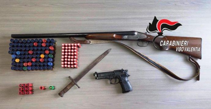 Armi e munizioni, un arresto e una denuncia a Maierato