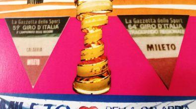 Ciclismo, a Mileto arriva il trofeo originale del Giro d'Italia 2020