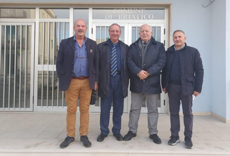 Il commissario La Vigna loda il lavoro di Pino Colloca a Briatico