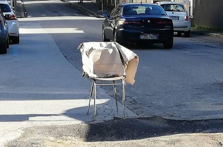 Scavo in strada riparato in malo modo, multa da 1600 euro a Vibo