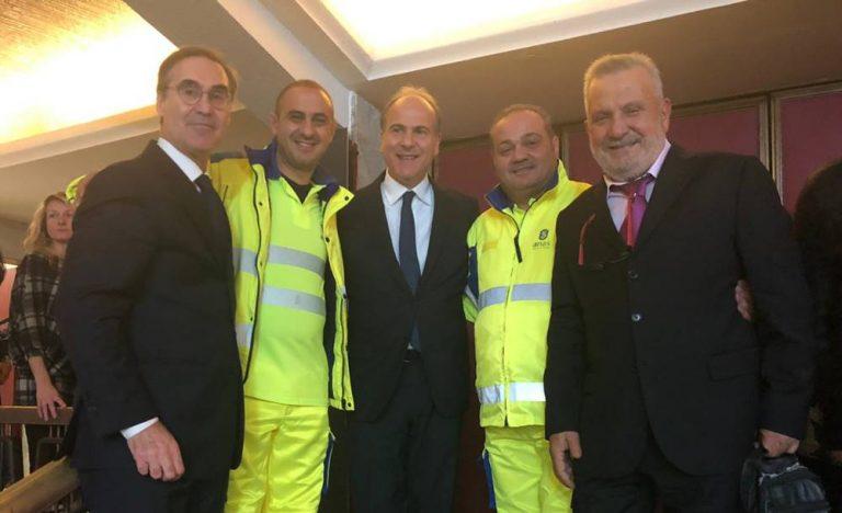 Il vibonese Giuseppe Rubino miglior cantoniere Anas 2019