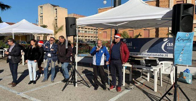 Centoventi podisti in gara a Vibo per la Corsa di Babbo Natale – Foto