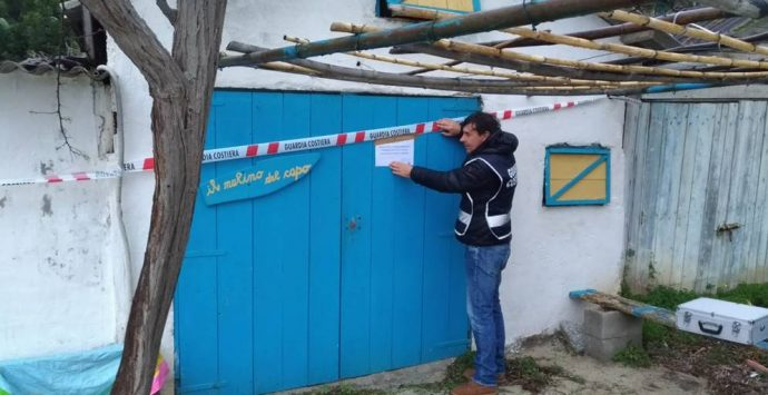 Ricadi, opere abusive e pericolose a Grotticelle: scatta il sequestro – Foto