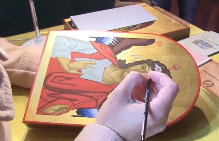 L'arte iconografica nelle opere di Michela Ferrara – Video