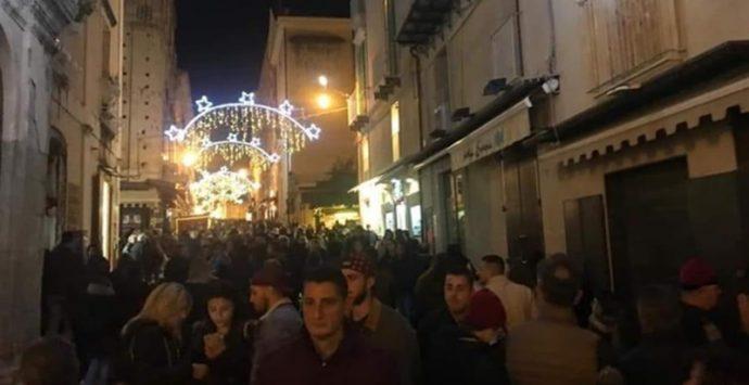Natale a Tropea, è boom: centro storico pieno come a Ferragosto