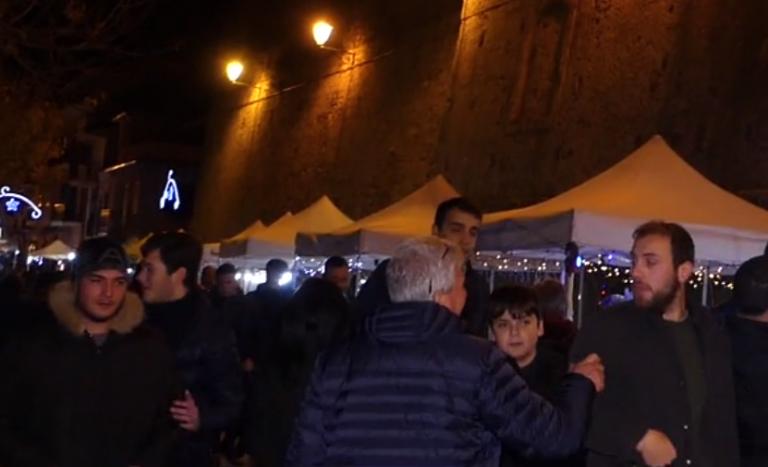 Nicotera, il centro storico si anima grazie ai mercatini di Natale – Video