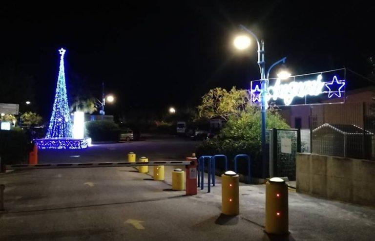 Natale al porto di Tropea, i pontili s'illuminano a festa