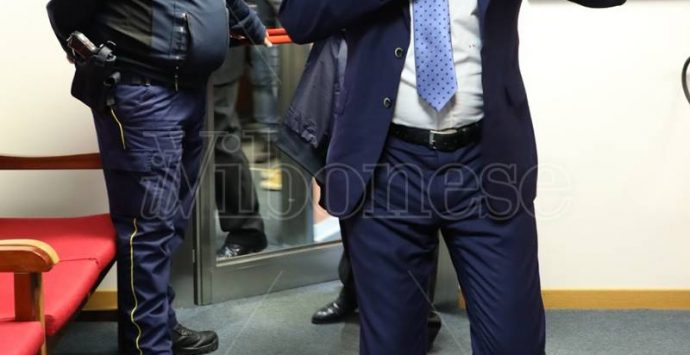 Salvini a Vibo, il leader della Lega negli studi di LaC – Le immagini