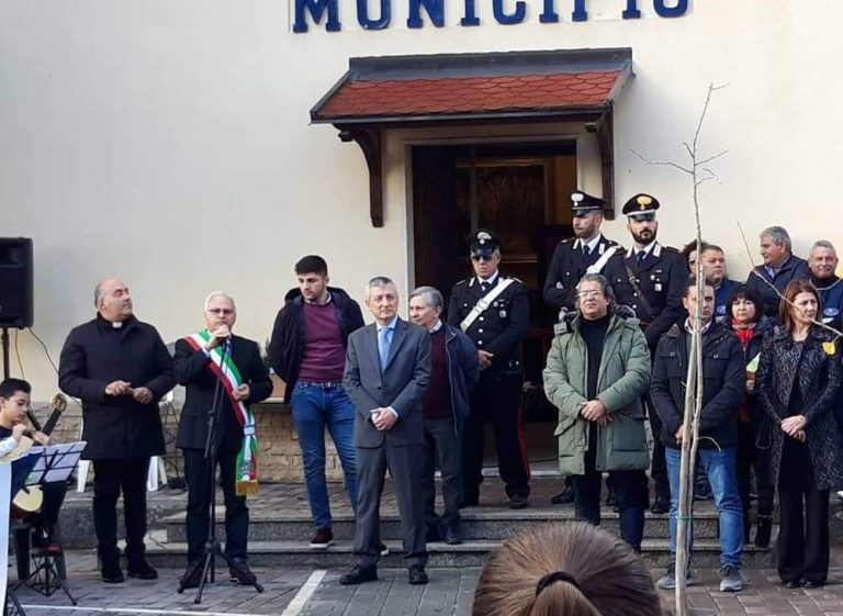 San Costantino celebra l'ambiente, all'iniziativa anche il prefetto Zito