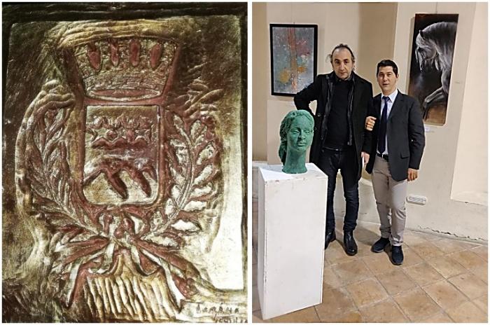 Ad Acri i bassorilievi dell'artista Tonino Gaudioso