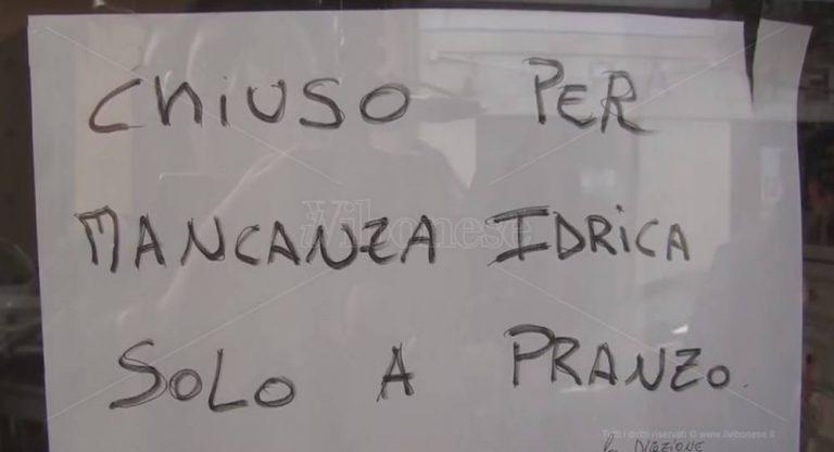 """Crisi idrica a Vibo, il Comune intenzionato a """"bacchettare"""" Sorical – Video"""