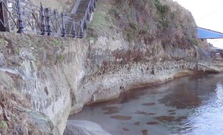 Piedigrotta, il tesoro di Pizzo insidiato dall'erosione – Video