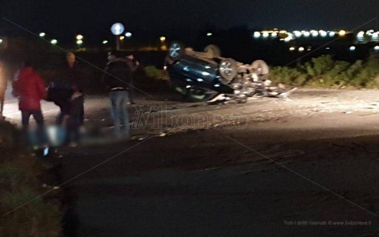 Incidente sulla provinciale Vibo-Tropea, ferito il giovane alla guida
