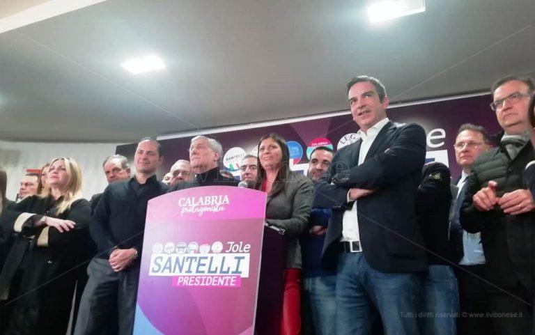 Regionali, il trionfo di Jole Santelli: «Una vittoria a mani libere»