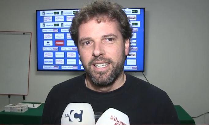 Tonno Callipo, De Nicolo: «Bello giocare finalmente in casa» – Video