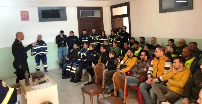 Gruppo Prociv Nicotera, focus su ordigni e attentati terroristici