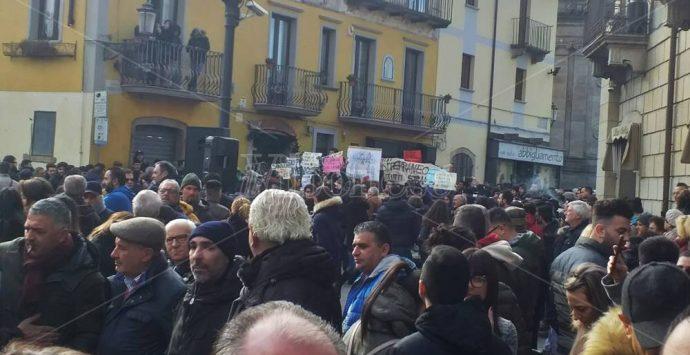 Matteo Salvini a Serra San Bruno: «Dalla sinistra solo insulti» – Video/Foto