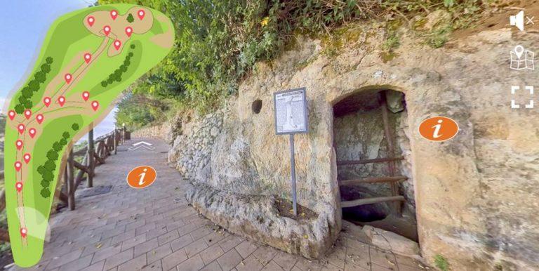 Viaggio virtuale nella Città di Pietra, on-line il sito delle Grotte di Zungri