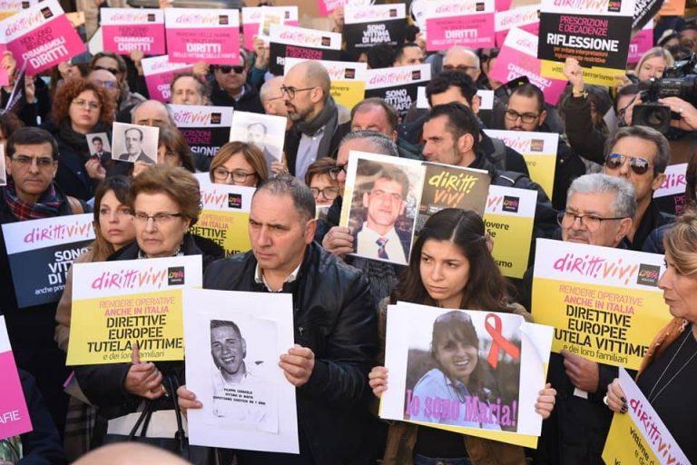 Vittime di mafia, Martino Ceravolo guida la protesta a Roma – Video
