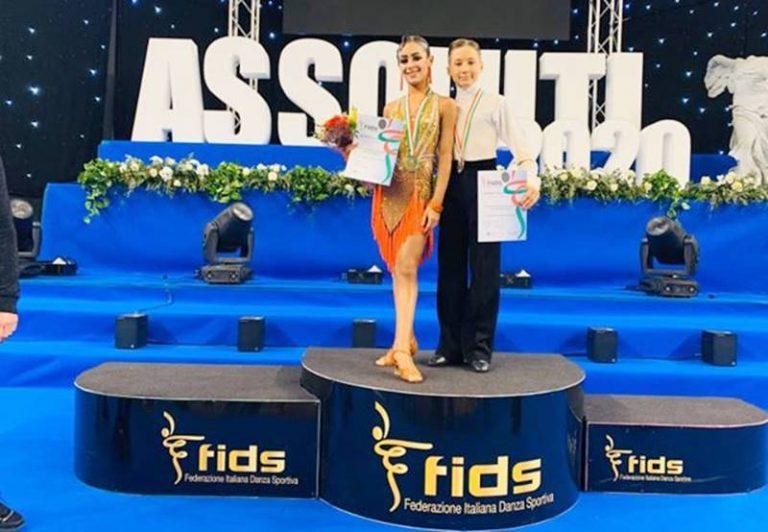 Il duo Coloca-Dubrivnyy trionfa agli Assoluti di danza sportiva