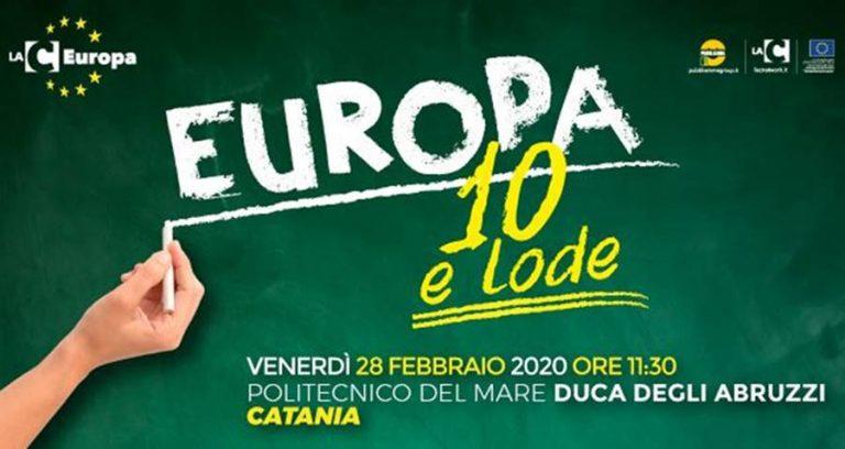 Catania, Politecnico del Mare: LaC Europa arriva in Sicilia