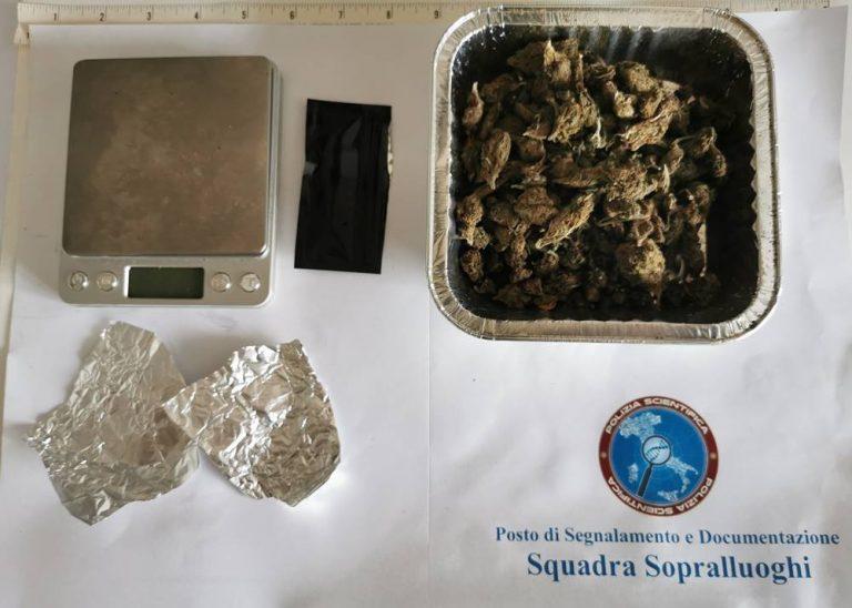 Nascondeva marijuana nel detersivo, arrestato 29enne di Capistrano