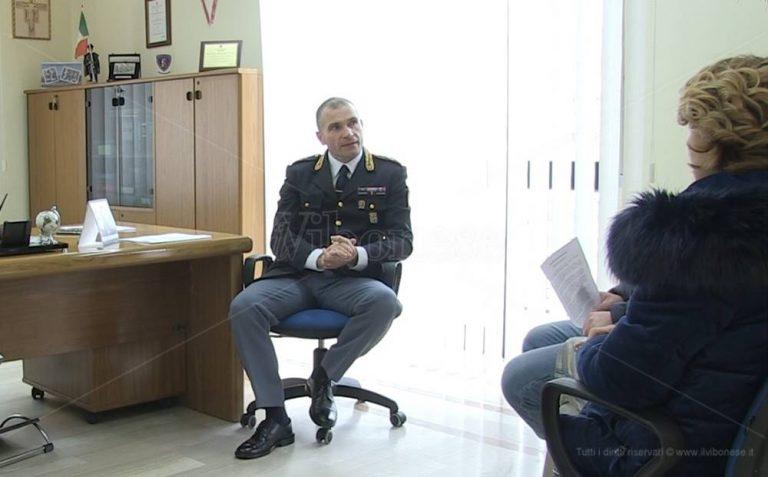 Polizia stradale di Vibo, il saluto del comandante Pasquale Ciocca – Video