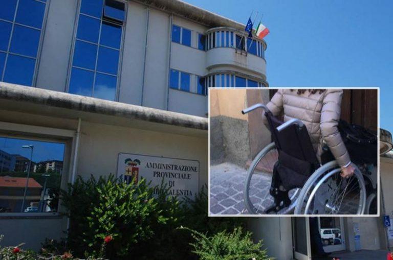 La Provincia di Vibo nega un montascale ad alunna disabile
