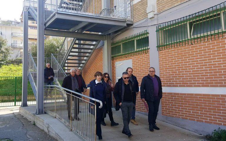Nicotera, inaugurata la scala d'emergenza del Liceo Classico