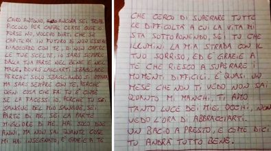 """L'infermiere vibonese scrive al figlio lontano per i suoi 2 anni: """"Andrà tutto bene"""""""