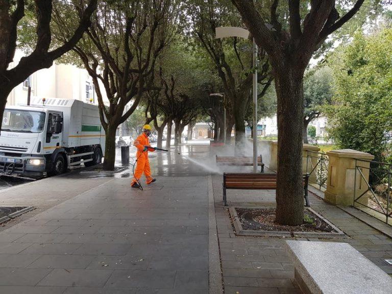 Igienizzazione del territorio comunale a Vibo, ecco il programma completo