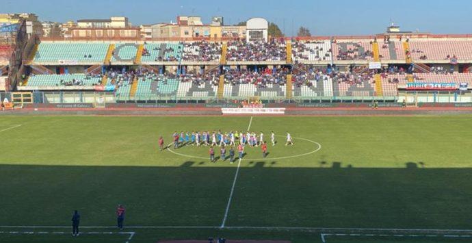 La Vibonese perde a Catania a due minuti dalla fine