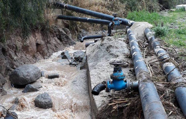 Maltempo nel Vibonese, ingenti danni all'acquedotto Medma
