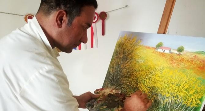 Artista vibonese mette le sue opere all'asta per l'ospedale Jazzolino