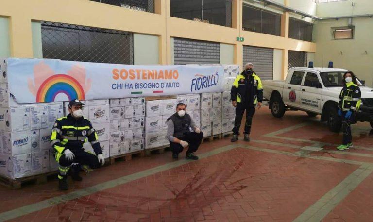 Tremila detergenti per i bisognosi donati al Comune di Vibo