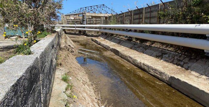 Vibo Marina, ultimata la pulizia straordinaria di fossi e torrenti – Foto