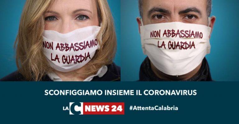 """""""Non abbassiamo la guardia"""", prosegue la campagna sul Covid-19 di LaC News24"""