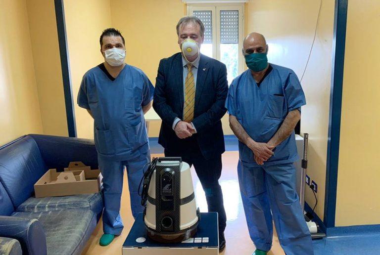 Parlamentari 5S donano sanificatori alle Asp di Vibo, Reggio e Cosenza