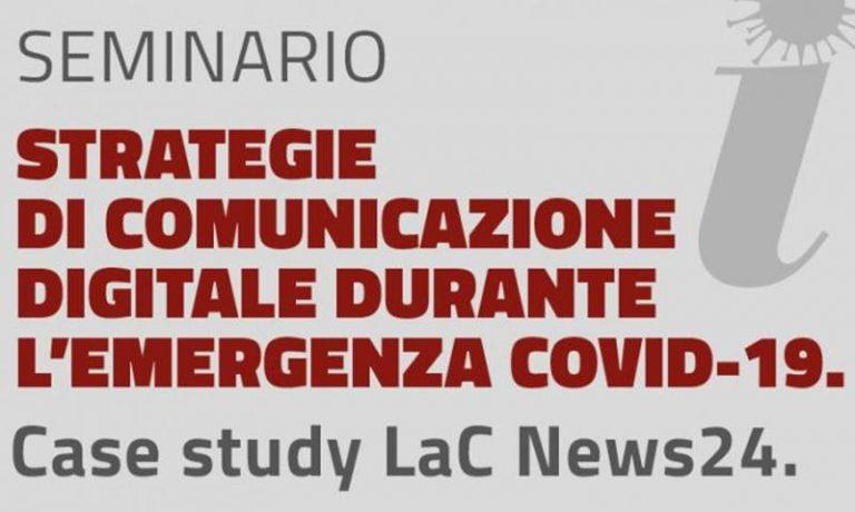 LaC News24 case study Covid-19 all'Università Magna Graecia