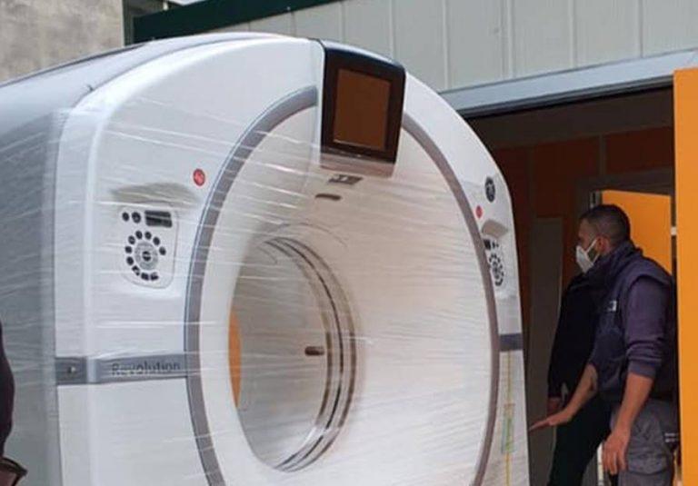 Coronavirus, all'ospedale Jazzolino di Vibo arriva la nuova Tac