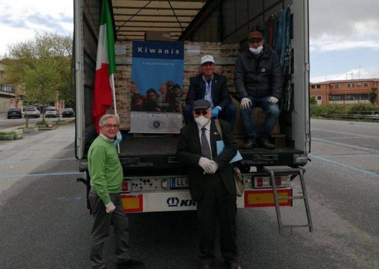Dall'Austria sei tonnellate di aiuti per le famiglie bisognose di Vibo