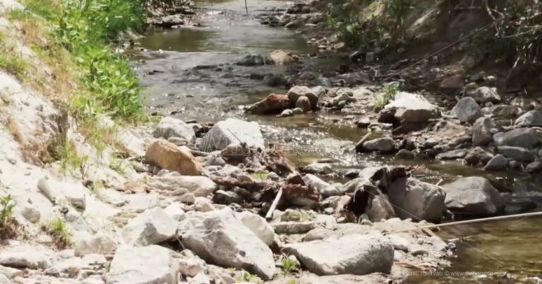 La minaccia del torrente La Grazia, una bomba ecologica ad orologeria incombe su Tropea – Video