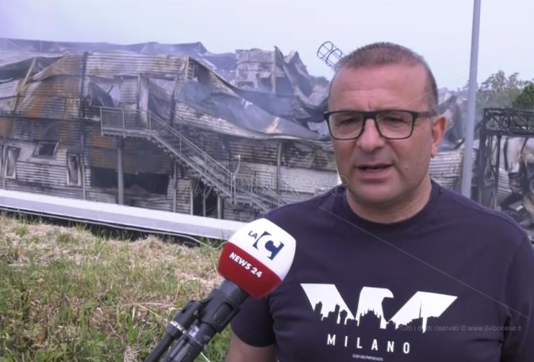 Salumificio in fumo a Spilinga, Caccamo: «Rinascerò dalle ceneri» – Video