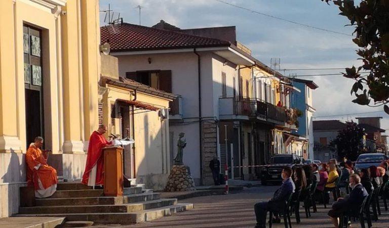 Messa all'aperto a Mileto per ricordare Francesco Prestia Lamberti