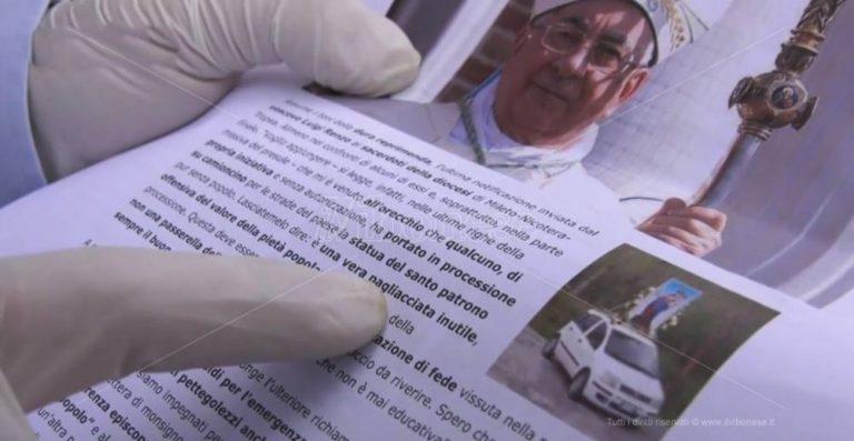 """Processioni non autorizzate nel Vibonese, spunta un altro prete """"disobbediente"""" – Video"""